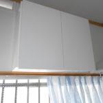 吊り戸棚製作設置 キッチンパネル施工