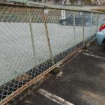 駐車場 ライン引き・パーキングブロック