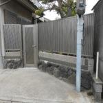 外構工事(フェンス、門扉) 奈良市