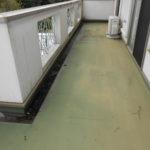 ベランダの雨漏り(防水塗装)