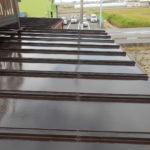 トタン屋根塗装、雨戸塗装 奈良市