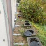 汚水桝・排水管 入替工事