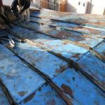 屋根改修工事(トタン張替)