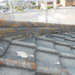 屋根しっくい(面戸しっくい)修理 奈良市