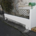 塀の塗装 奈良市