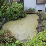 池の解体撤去 (池を埋める)奈良