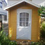 小屋の塗装 奈良